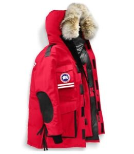 NEW canada goose winter red mantra jacket