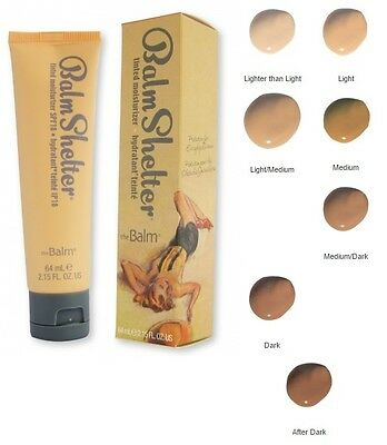 BALM SHELTER Tinted Moisturizer in Light/Medium!