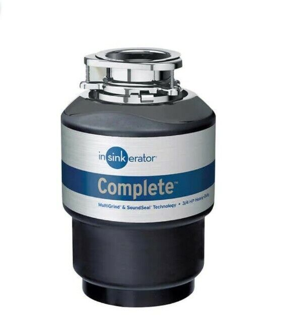 InSinkErator Quiet Series Complete 3/4 HP Heavy Duty Garbage Disposal New ✅