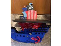 Next Pirate Shelf and Lightshade