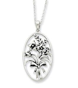I-Celebrate-The-Day-You-Were-Born-Silver-Pendant-Silver-18-Necklace