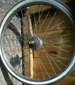 20 inch rear wheel with sturmey archer hub