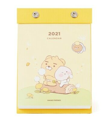 Kakao Friends 2021 New Year Daily Desk Calendar Illustration Korea Goods