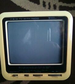 Vintage Tv/radio