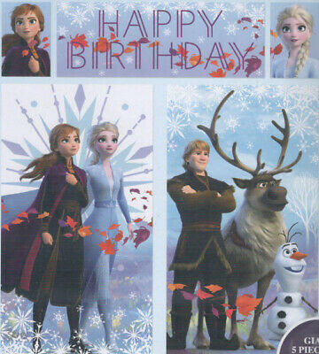 Elsa Birthday Party (Disney FROZEN 2 II Scene Setter BIRTHDAY party wall poster backdrop Anna Elsa)