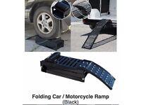 MOTORCYCLE - CAR RAMP FOLDING HEAVY DUTY ONLY £49.99 AT KICKSTART BELFAST