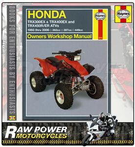 Honda xr 400 haynes manual