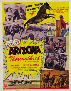 The-Gentleman-from-Arizona-1939-John-King-Cult-Western-movie-poster-print
