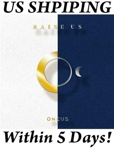 [US SHIPPING] Oneus-[Raise Us] Album CD+Poster+Booklet+PhotoCard+etc Free ship