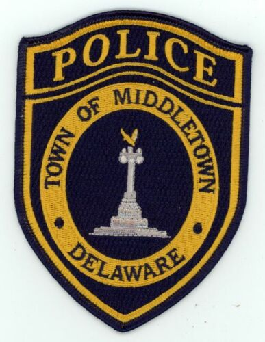 MIDDLETOWN POLICE DELAWARE DE NEW PATCH SHERIFF