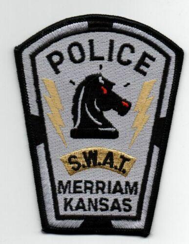 KANSAS KS MERRIAM POLICE SWAT NICE PATCH SHERIFF