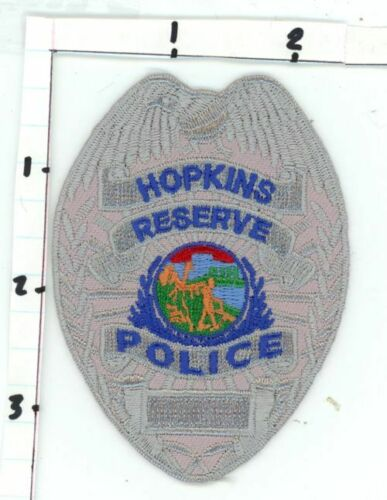 MINNESOTA MN HOPKINS POLICE OFFICER RESERVE NEW PATCH SHERIFF