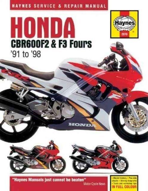 Haynes Manual Honda CBR600F2 1991-98 CBR600F3 Fours 599cc Workshop Manual