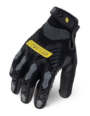 Ironclad IEX-MIG Black Command Impact Gloves, XL, 1 Pair, New, Free Shipping Black Commander Gloves