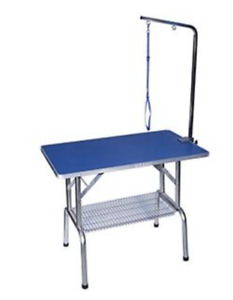 Folding Grooming Table with Arm
