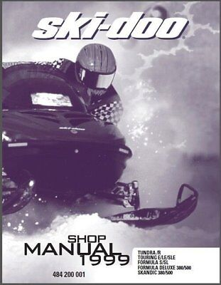 1985 ski doo tundra manual