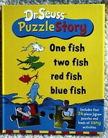 NEW - Dr. Seuss Puzzle Story: One Fish Two Fish Red Fish Blue Fi