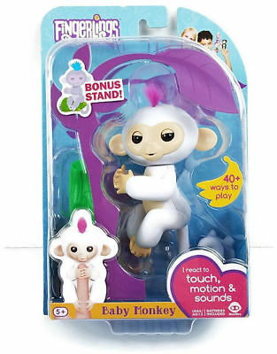 Fingerlings Monkey Sophie White WowWee Baby Monkey Toy Brand New Authentic