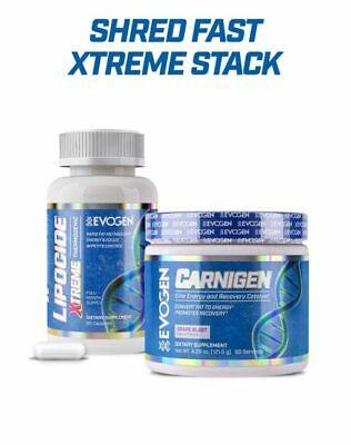 Evogen Nutrition Shred Fast Xtreme Stack   Stack Of 2   4 (Xtreme Stack)
