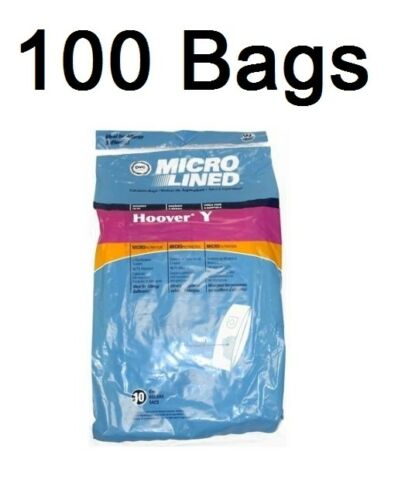 Type Y Vacuum Bags For Hoover Windtunnel Microfiltration ...