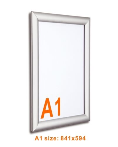 A2  25X18 inch Multi-Sized Aluminum Snap Photo Frames LED Illuminated Poster Holder Wall Picture Frame for Decoration