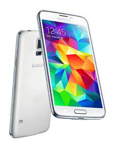 Unlocked Samsung Galaxy S5 16GB White G900W8 + Extras!!