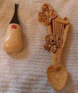 Music Celtic Harp style love spoon hand carved $45 Peterborough Peterborough Area image 2