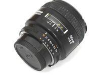 Nikon Nikkor 85mm 1.8 Af D portrait lens + Hood