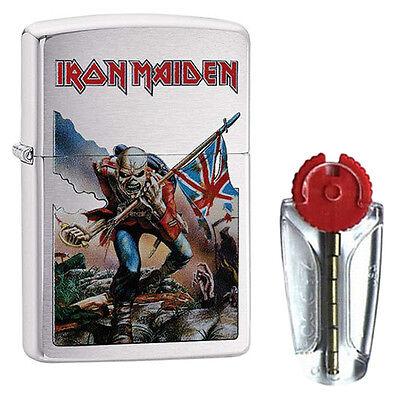 Iron Maiden Zippo Lighter - The Trooper Album Cover 29432 - FREE FLINTS & P&P