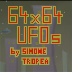 FREE browser video game - 64x64 UFOs Sydney City Inner Sydney Preview