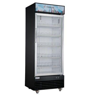 25 1 Glass Door Refrigerator Display Cooler Swing Nsf Dukers Lg430 New 2221