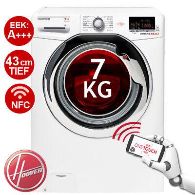 Waschmaschine Frontlader A+++ Hoover Dynamic Next DXOC4 37AC3 43cm 7 KG