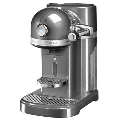 Kitchenaid Kaffeemaschine (KitchenAid ARTISAN Nespressomaschine 5KES0503EMS/4 Medallion Silber)