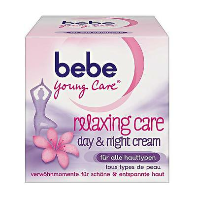 (Bebe Young Care Relaxing Care face cream -All types of Skin-50ml-FREE SHIPPING)