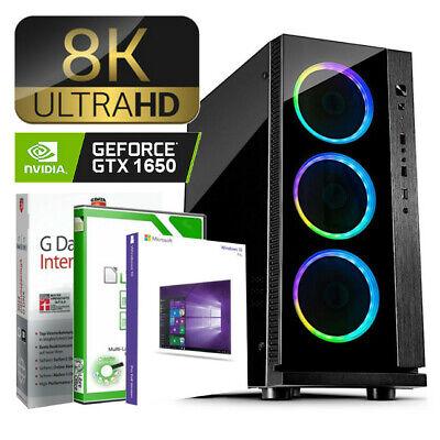 MEGA GAMING PC AMD FX-6330 6x4.2GHz 16GB DDR3 120GB SSD GTX 1650 4GB Windows 10