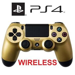 NEW PS4 WIRELESS CONTROLLER GOLD - 113405539 - DUALSHOCK 4 - VIDEO GAME ACCESSORIES