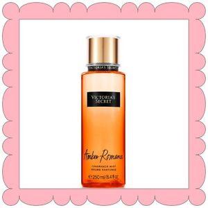 (1) Victoria's Secret AMBER ROMANCE Fragrance Mist Body Spray 8.4oz/250ml NEW