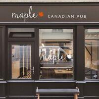 Maple Canadian Pub - Career Fair