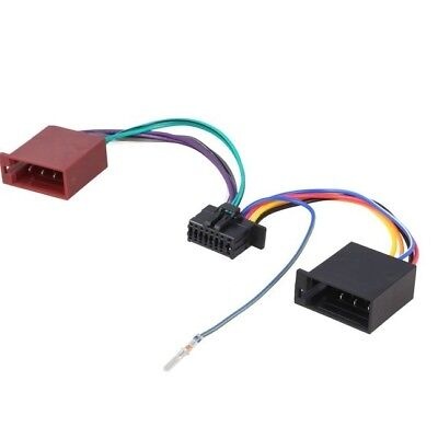 Cable Adaptador Iso Autorradio JVC KD-X361BT KD-X362BT