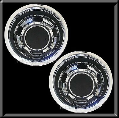 "(2) 2013 2014 Dodge Ram Truck 3500 Rear Pair 17"" Hubcaps Wheel Simulator Dually"
