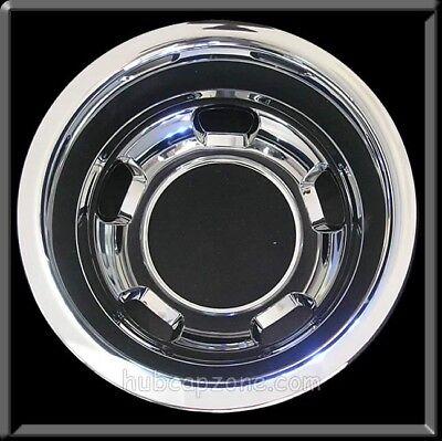 "2003-2018 Dodge Ram 3500 Rear Wheel Liner Simulator 17"" Chrome Hubcap, Dually"
