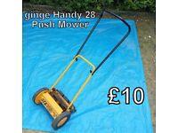 Push Mower - ginge Handy 28