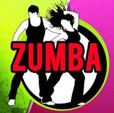 ZUMBA DANCE WORKOUT DVD BURN CALORIES FITNESS EXERCISE WEIGHT LOSS