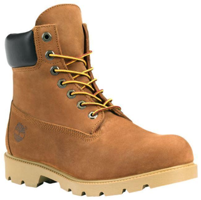 Men's Shoes Timberland 6 INCH BASIC Waterproof Boots 19076 RUST Nubuck *New*