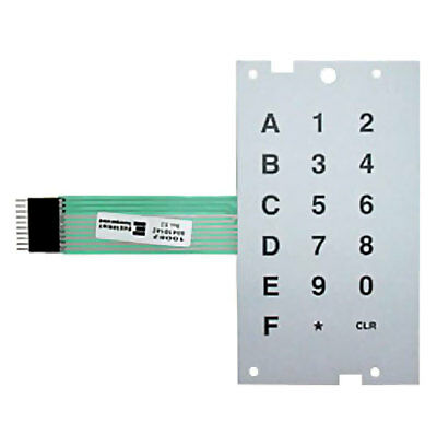 Dixie Narco Bev Max 4 5800 Selection Key Pad New Membrane