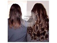 Keratin Bond & Micro Rings Hair Extensions Full Head just £250 LOW DEPOSIT