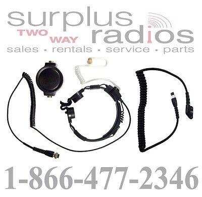 Pryme Spm-1522s Throat Mic Headset Vertex Evx-531 Evx-534 Evx-539 Vx354 Vx454