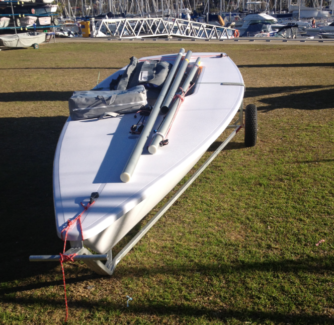 Laser Dinghy 207468 (can be sold with road trailer)