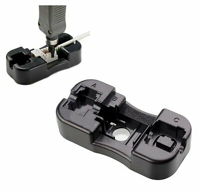 Stand Holder for 110 Punch Down Tool RJ45 CAT5e CAT6 RJ11 RJ12 Keystone Jack for sale  Shipping to India