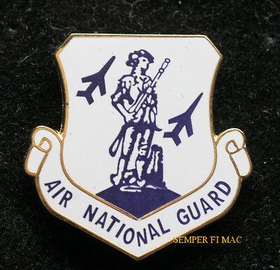 AIR NATIONAL GUARD ANG HAT LAPEL PIN UP WING US ARMY NAVY AIR FORCE MARINES GIFT Army Air Force National Guard
